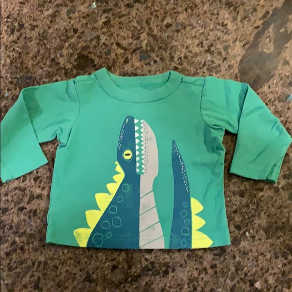 Tea Collection Dinosaur Long Sleeve Tee 3-6 Months